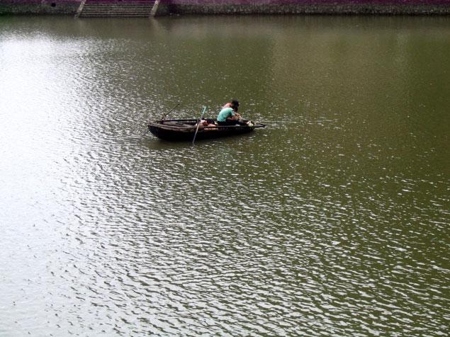 pescadores de la isla
