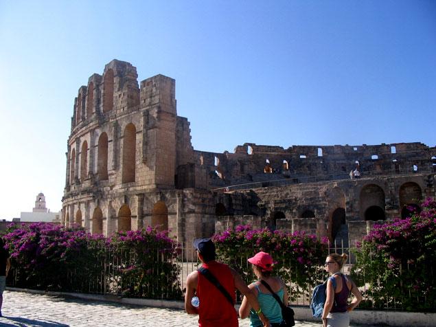Coliseo de el Djem