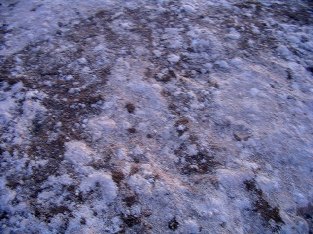 Desierto de sal Chott