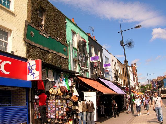 Tiendas de Camden