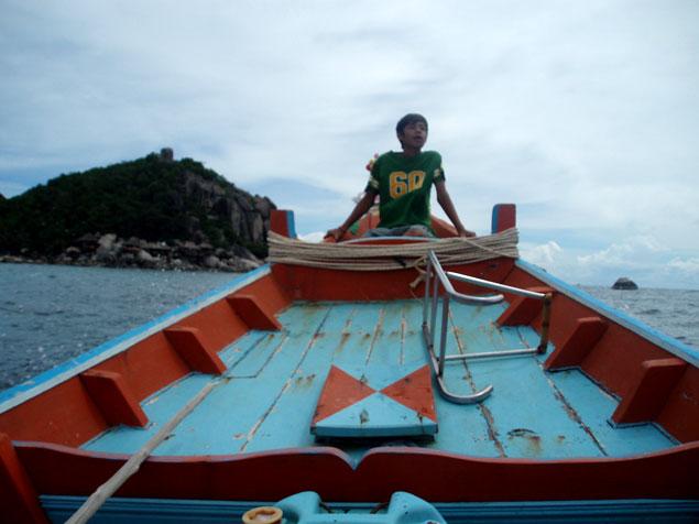 Recorrer la isla con un pescador local (Fotos Koh Tao)