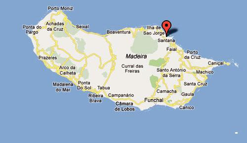 mapa santana madeira Santana (Madeira) Portugal   mapa santana madeira