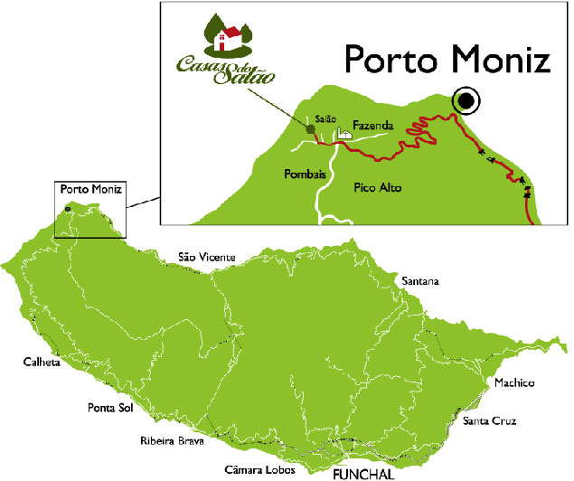 Ubicación Porto Moniz