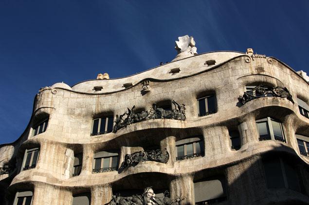 Edificio modernista en Passeig de Gràcia
