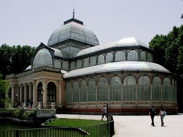 Palacio de Cristal en el Retiro