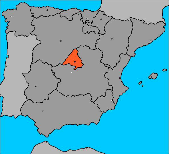 Ubicación Madrid