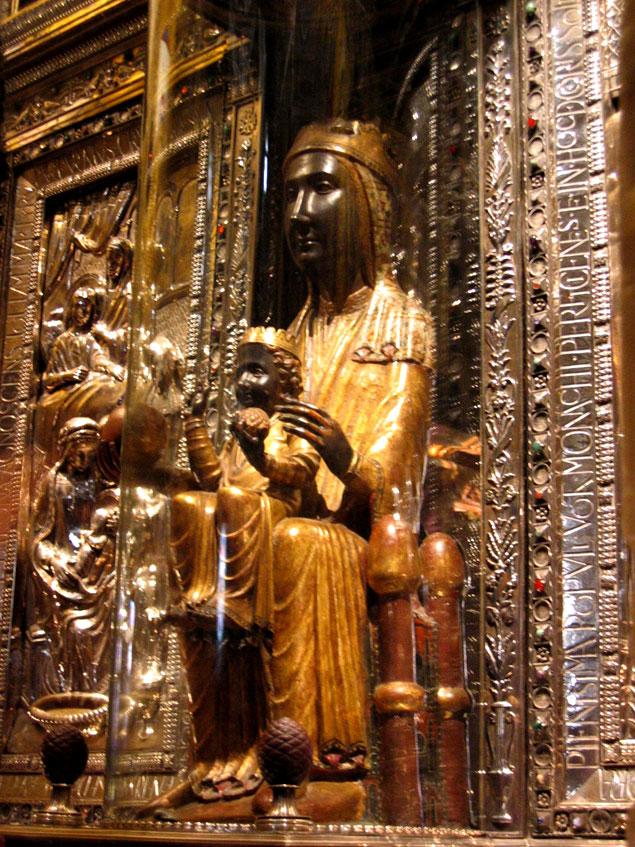Imagen de la Verge de Montserrat