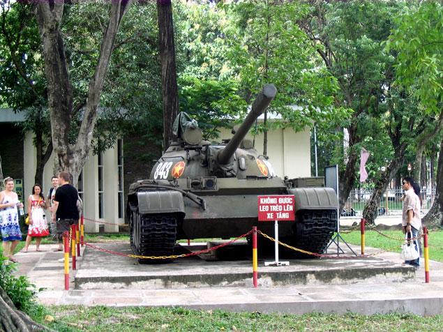 Tanque en el museo