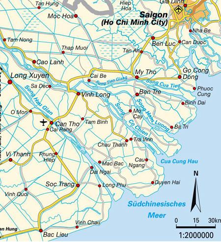 Mapa del Delta