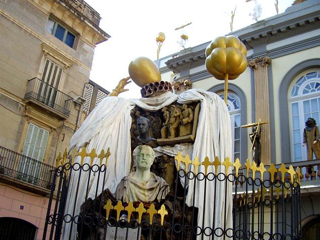 Estatua Museu Dali