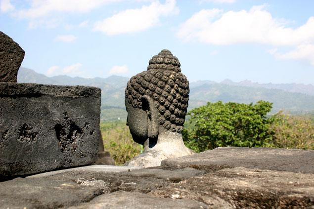 Buda en Borobudur