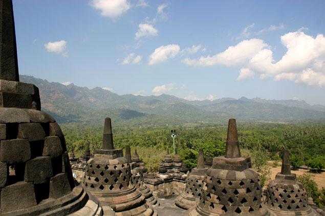 Nivel superior Borobudur
