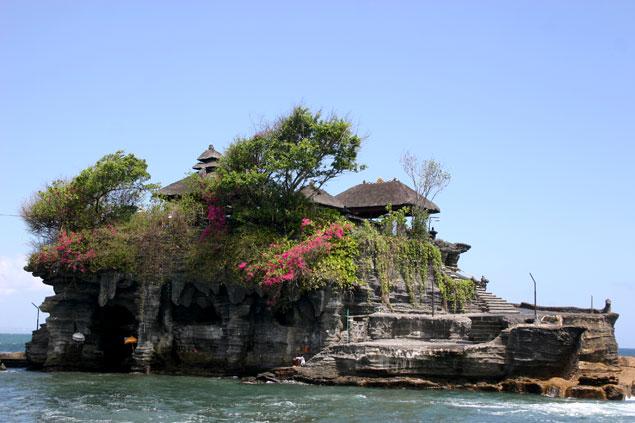 Templo en la isla