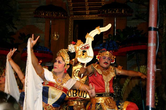 Las famosas danzas balinesas