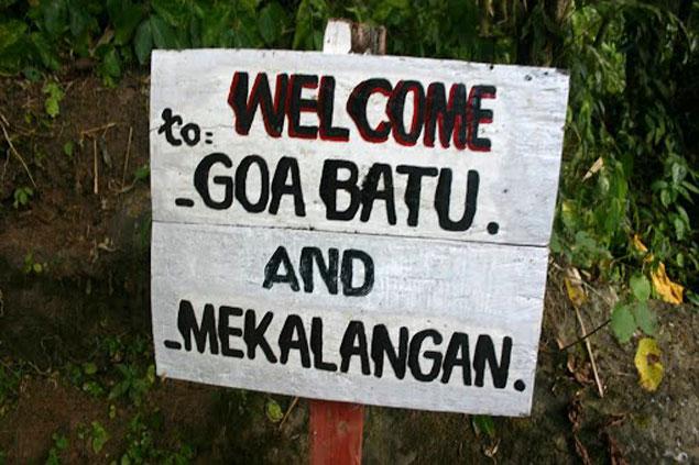 Cascadas de Goa Batu
