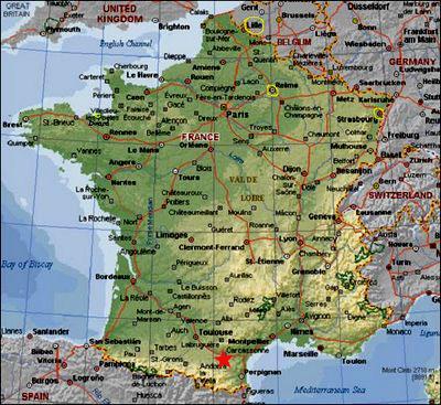 carcassonne mapa Carcassonne (Francia) Informacion y mapa carcassonne mapa