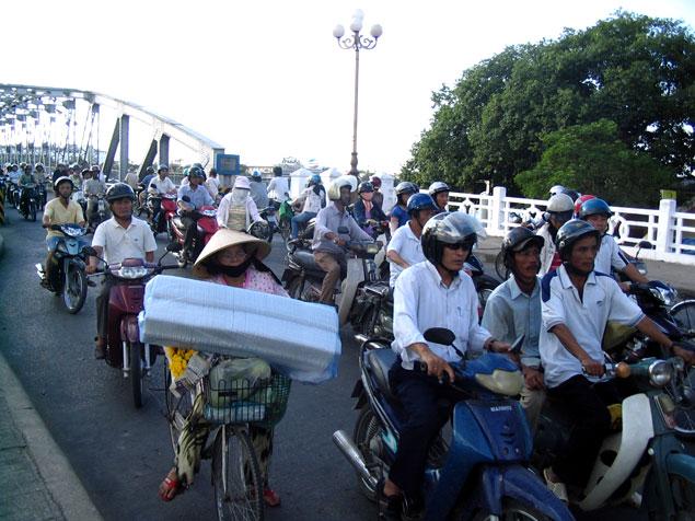 Tr´fico de motocicletas