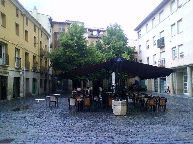 Plaza en Logroño