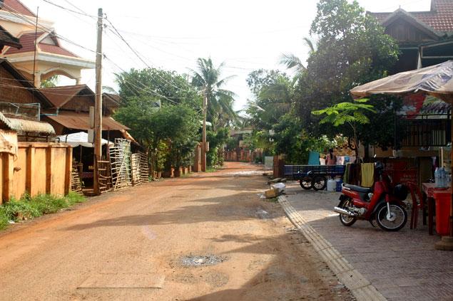 Muchas calles sin asfaltar