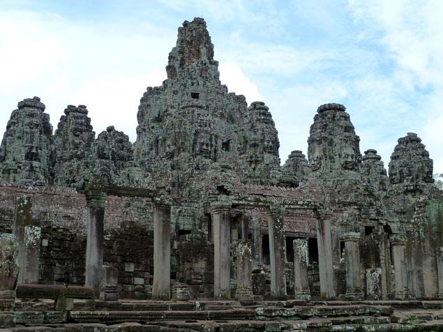 Imagen del templo Bayon