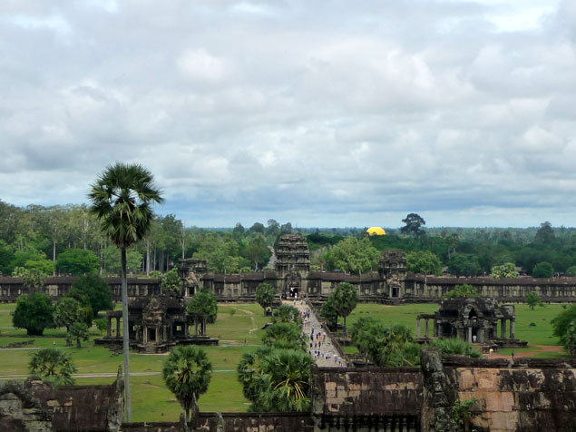 Vista de Angkor Watt