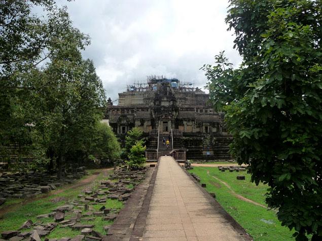 Entrada del Baphuon , que ver en los templos de Angkor