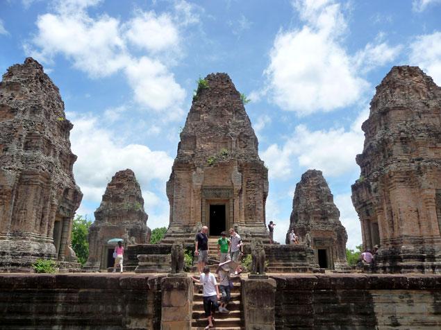 Estructura principal , que ver en los templos de Angkor