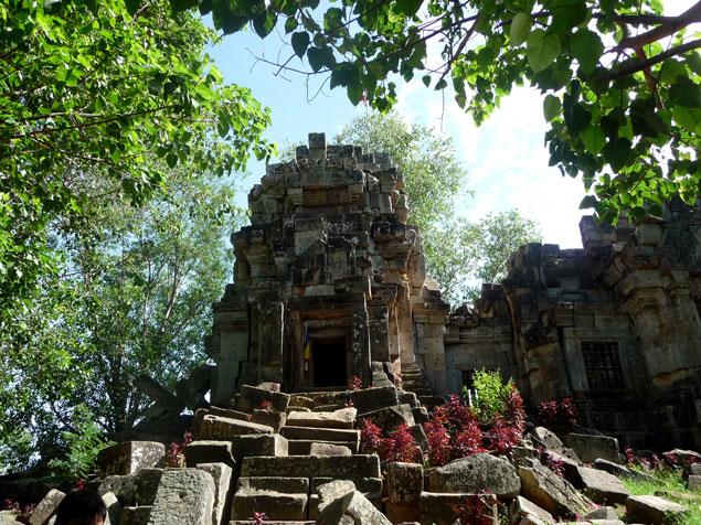 Restos de perido Angkor