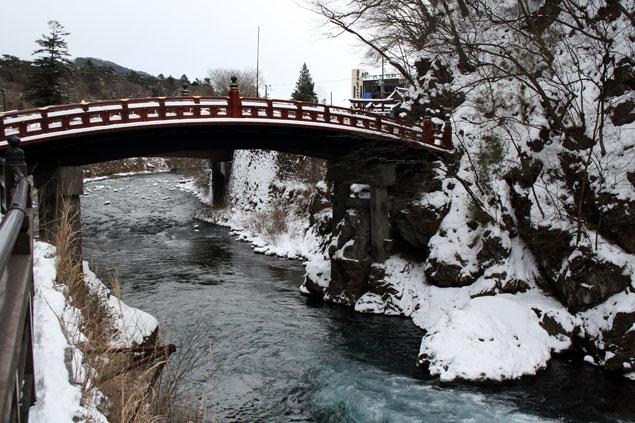 Puente rojo Shin-Kyo