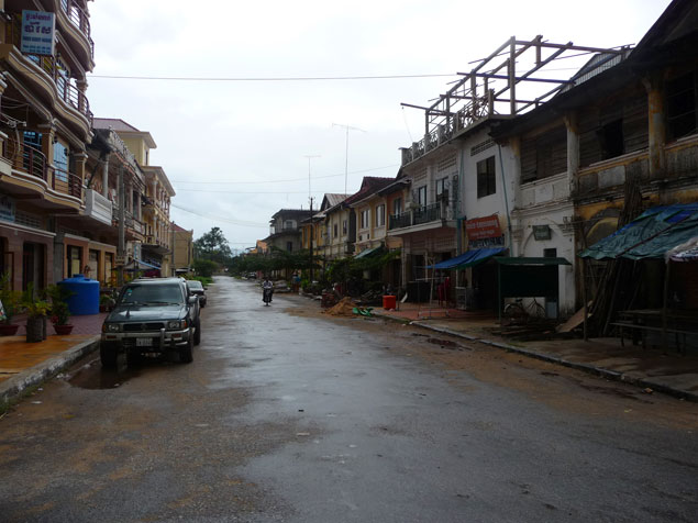 Calles de Kampot