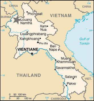 ubicación Luang namtha