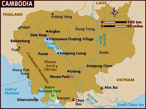 Ubicación Kampot