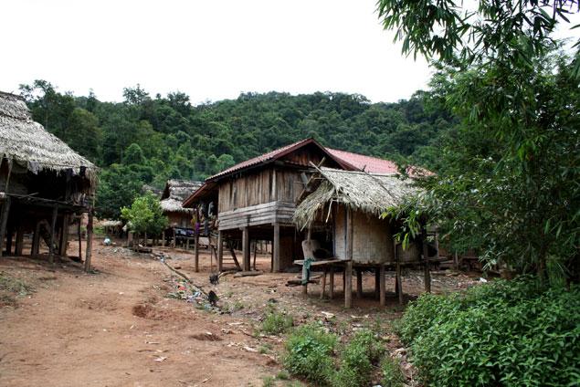 Akha Village, nuestro hogar por una noche