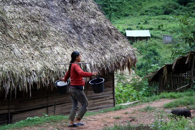 Vida muy rural y básica