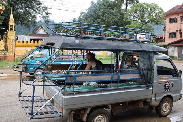 Tuk tuk o jumbo ideal para recorrer los alrededores