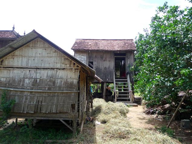 Isla de Koh Paen en Kampong Cham