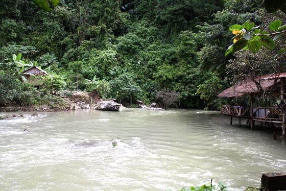 Water Cave , que ver en Vang Vieng