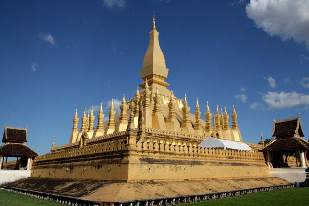 Gran templo de Vientiane