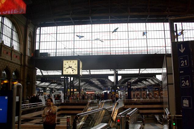 Estación central de zurich
