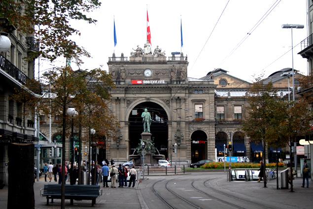 Estación Central de Zurinch