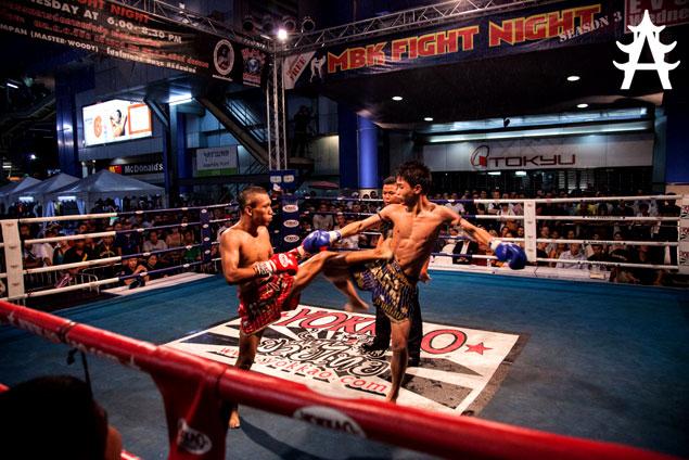 Noche de boxeo en el MBK