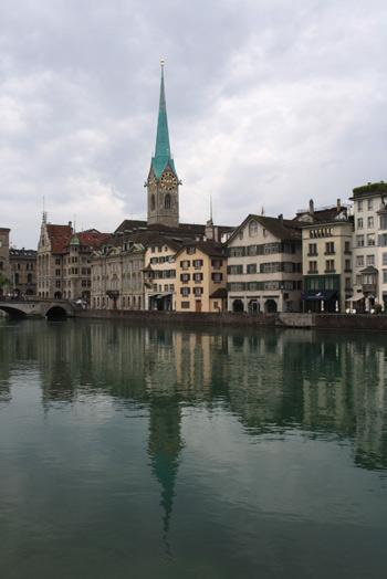 Fraümunster , emblema de Zurich