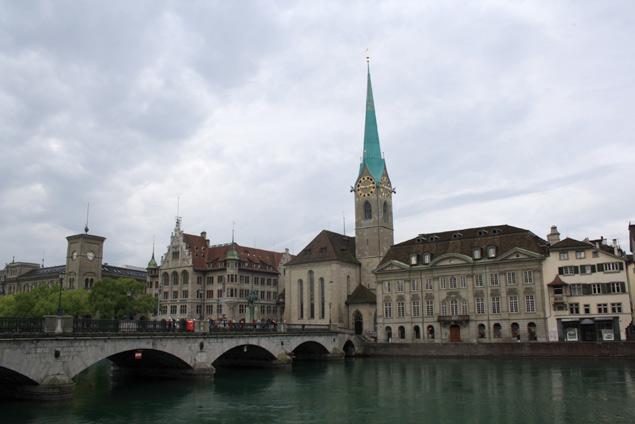 Una de las imágenes mas populares de Zurich