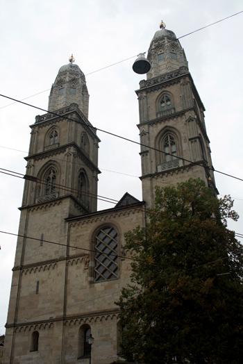 Grossmünster , emblema de Zurich