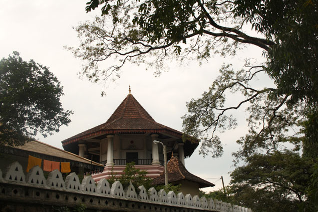 Templo en Kandy