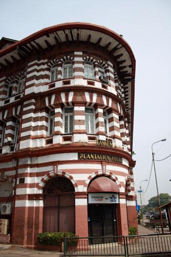 Edificio clásico de Fort