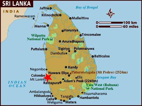 mapa colombo Colombo (Sri Lanka) Información y Mapa mapa colombo