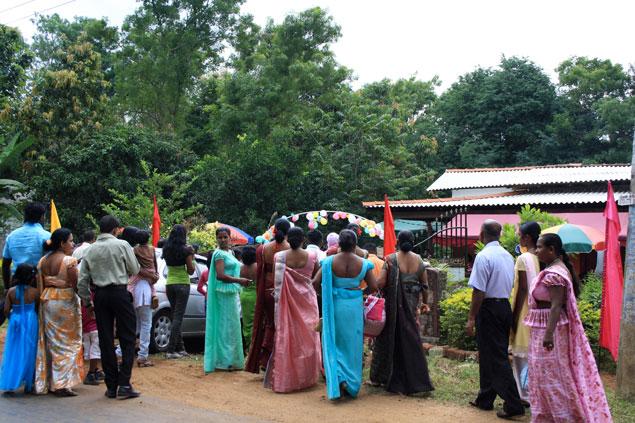 boda en Sri Lanka