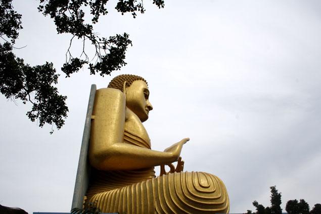 Enorme Buda dorado