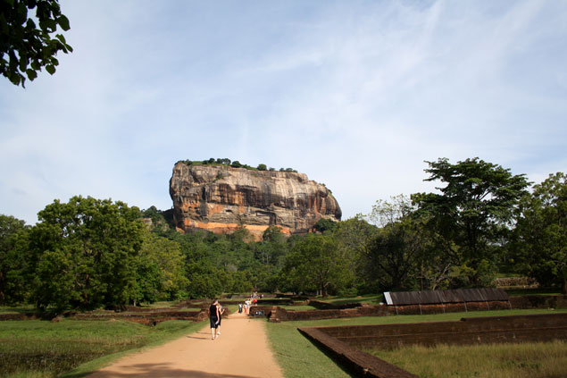 En la cima se construyó un imperio , que ver en Sri Lanka